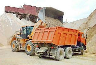 Превышение нагрузки на ось при перевозке песка, щебня, гравия, ГПС
